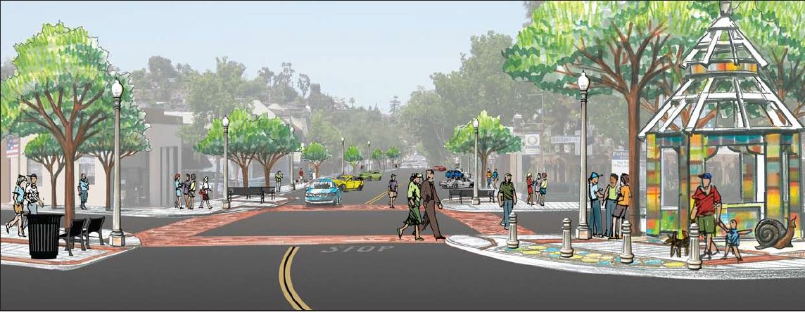DVSIP Rendering looking south at 4th.JPG